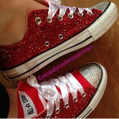 Ideas For Bridal Shoes Sneakers Converse Diy Wedding Shoes, Converse Wedding Shoes, Bling Converse, Wedge Wedding Shoes, Designer Wedding Shoes, Bling Shoes, Prom Shoes, Bridal Shoes, Rhinestone Converse
