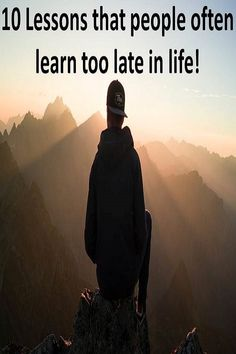 10 Lessons People Often Learn Too Late Learning, People, Life, People Illustration, Folk, Education, Teaching