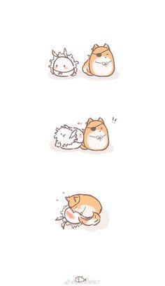 Romance Art, Fairytale Art, Cute Animal Drawings, Cute Gay, Manga, Webtoon, Character Art, Chibi, Anime Art