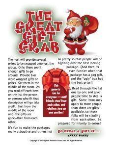 Christmas Gift Exchange Games