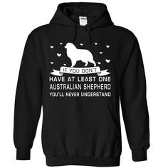 Australian Shepherd T Shirts, Hoodies. Check price ==► https://www.sunfrog.com/Pets/Australian-Shepherd-9571-Black-Hoodie.html?41382 $39.99