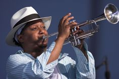 Kermit Ruffins (born December 19, 1964) is an American jazz trumpeter, singer, and composer from New Orleans, Louisiana, United States.