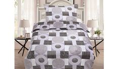 Oblieček Mikrovlákno a Mikroflanel Grey circle, i-matrace. Quilts, Blanket, Grey, Home, Gray, Quilt Sets, Ad Home, Blankets, Homes