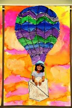 smART Class: Finished Texture Turkeys and Hot Air Balloons Atelier Photo, Balloon Crafts, Paper Collage Art, Jr Art, Smart Class, Spring Art, Preschool Art, Art Classroom, Art Plastique