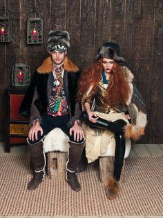 Fashion Week Guide book April 2012  Mongolian rug