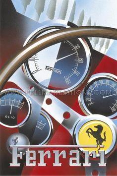 1962 Ferrari 250 GTO Dashboard