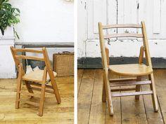 イギリスアンティーク折畳チャイルドチェア子供椅子7076 ¥9000円 〆03月14日