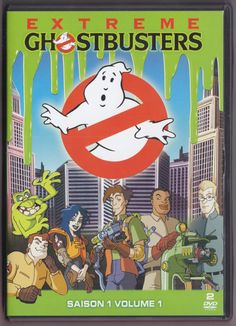 GEEK B-ROLL - Cartoon Review: Extreme Ghostbusters Season 1 Part...