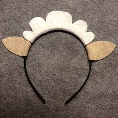 20 bulk lot sheep lamb ears headband custom color by Partyears