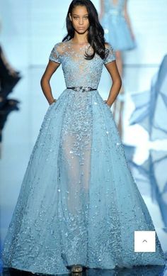Zuhair Murad Spring 2015 Couture CollectionBy one count, Zuhair Murad's wedding dress for his Spring 2014 Couture Collection
