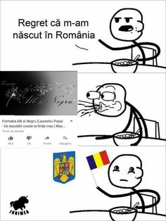 Funny Images, Funny Pictures, Albondigas, Funny Comics, Cringe, Romania, Good Morning, Haha, Geek Stuff