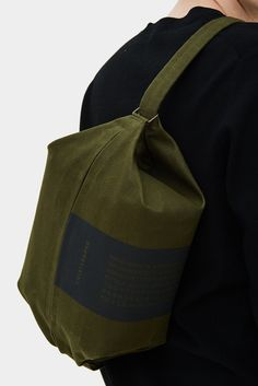 Transfer Bag 01 Army Green