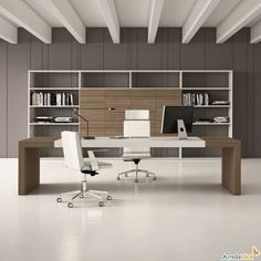 Buying Very Cheap Office Furniture Correctly Corporate Office Design, Office Cabin Design, Office Furniture Design, Office Interior Design, Office Interiors, Home Interior, Furniture Ideas, Ceo Office, Modern Office Desk