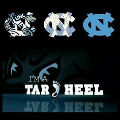 UNC Tar Heels Carolina Pride, Carolina Blue, Tar Heels Football, Heels Quotes, Carolina Football, Unc Chapel Hill, Unc Tarheels, University Of North Carolina, Basketball Teams