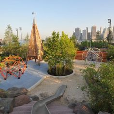 Pier 6 Playground - New York City, NY #Yuggler #KidsActivities #NYC