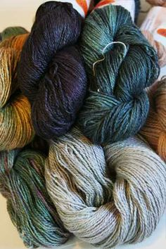Daily Deal 6/3: 30% Off Jade Sapphire Silk/Cashmere 2 Ply Free shipping & Dayflower Scarf Pattern in 3 sizes (1, 2 or 3 skein version as a free downl...