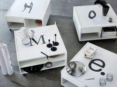 DIY: BOKSEL soffbord förvandlas med ditt favorittryck eller budskap