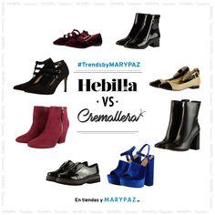 ¿¿ Qué os parece el #TrendsbyMARYPAZ de hoy ?? Este versus va de adornos: HEBILLA vs CREMALLERA  Hazte con estos zapatos con HEBILLA buscando las referencias ►74734►74829►74728►74808  Hazte con estos zapatos con CREMALLERA buscando las referencias ►75017►74761►75058►75033  Búsca las referencias aquí ►http://www.marypaz.com/  #SoyYoSoyMARYPAZ #Follow #winter #love #otoño #fashion #colour #tendencias #marypaz #locaporlamoda #BFF #igers #moda #zapatos #trendy #look #itgirl #invierno #AW16