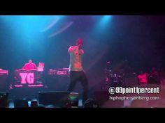 YG & DJ Mustard - Up (Live) High School Tour @ The Wiltern Los Angeles 12/13/11