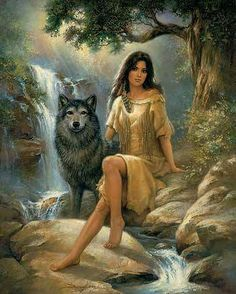 Guiding Forth Painting by Russ Docken Native American Wolf, Native American Paintings, Native American Pictures, Native American Wisdom, Native American Beauty, Indian Pictures, American Indian Art, Native Indian, Native Art