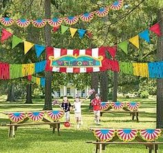 Love all the banners and bunting for VBS 2013