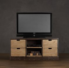 restoration hardware media chest. <3 | house - decor | Pinterest ...