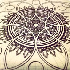 pyrography sacred geometry - Google Search