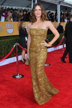 Jennifer Garner in Oscar de la Renta - SAG Awards 2012