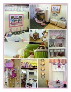 this is my pink cupcake kitchen!