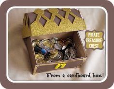 How to make a pirate treasure chest - Here Come the Girls