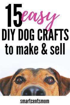 15 Cheap & DIY Dog Crafts to Make & Sell 15 EASY & CHEAP DIY dog crafts to make and sell on Etsy! Looking for a cheap and easy way to sell crafts at home? These DIY dog accessories, dog beds, and home decor are perfect for the any dog lover. Diy Pet, Diy Dog Toys, Easy Crafts To Sell, Sell Diy, Christmas Crafts To Sell Make Money, Diy Tumblr, Dog Crafts, Animal Crafts, Pinterest Arte
