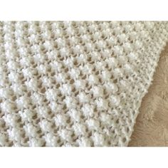 Baby Knitting Patterns Chunky Easy Bobble Baby Blanket Knitting pattern by Daisy Gray Knits Chunky Knitting Patterns, Christmas Knitting Patterns, Crochet Patterns, Knitting Stitches, Basket Weave Crochet Pattern, Baby Afghan Crochet, Knit Dishcloth, Knitted Baby Blankets, How To Purl Knit