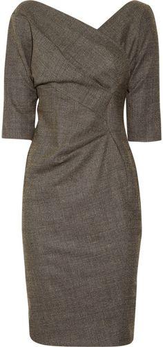 Wrap-effect dress, vintage style <--vestido fabuloso ♥