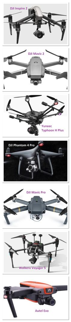 Quick Review Of The 7 Best Aerial Photography Drones  Includes beautiful sample video footage along with features and specifications for each drone