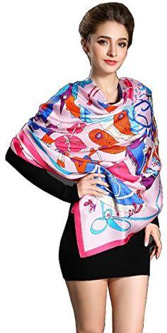 Spring Air Women 100% Silk Twill Large Large Square Scarf... https://www.amazon.com/dp/B01ETEQ36C/ref=cm_sw_r_pi_dp_I1fOxb1PJ5JFR