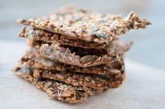 Knekkebrød med quinoaflak Quinoa, Chocolate, Chocolates, Brown