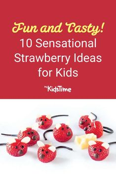 10 Sensational Strawberry Ideas for Kids –Fun and Tasty! Strawberry Mouse, Strawberry Ideas, Strawberry Muffins, Strawberry Milkshake, Strawberry Lemonade, Smoothies For Kids, Breakfast Smoothies, Homemade Fruit Leather, Ice Pop Recipes