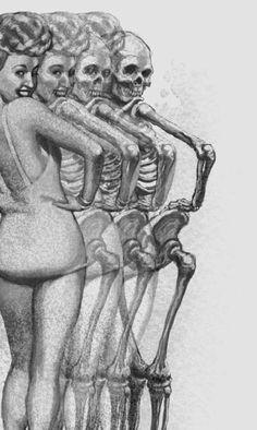 Betty Grable - bones to body
