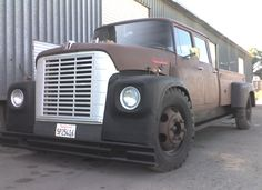 International Loadstar 1600 crewcab modified