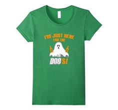 Amazon.com: I'm Just Here For The Boos Halloween Costume Graphic T Shirt: Clothing