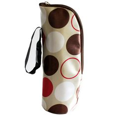 Insulated Thermal Single Bottle Holder Travel Pouch (8 Colors)