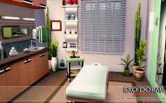 """from the lot """"EXO Dorm (No CC)"""" Massage Room"""