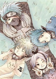 Kakashi and his students