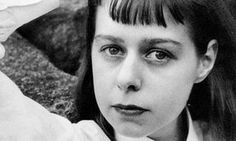 American author and playwright Carson McCullers, pictured around The Heart Is a Lonely Hunter, her debut novel of desolate southern lives, made McCullers an instant star – something she never fully recovered from New Books, Good Books, Map Of Michigan, Pictures Of America, Library Of America, Pictorial Maps, Literary Fiction, Playwright, Misfits
