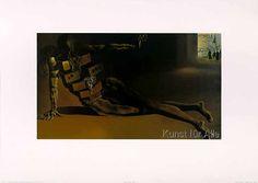 Salvador Dalí - Der anthrophomorphe Kabinettschrank, 1936