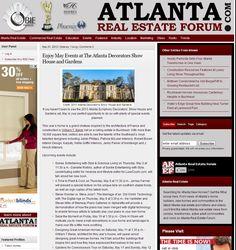 Atlanta Symphony Orchestra Decorators Show House & Gardens | Atlanta Real Estate Forum, April 2013
