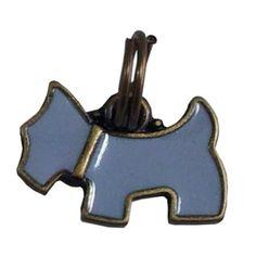 Pingente Cachorrinho Azul Woof - MeuAmigoPet.com.br #petshop #cachorro #cão #meuamigopet