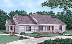 Plan No: W26123SD Style: Ranch, Traditional Total Living Area: 1,736 sq. ft. Main Flr.: 1,736 sq. ft. Deck & Porch: 360 sq. ft. Bedrooms: 4 Full Bathrooms: 3 Half Bathrooms: None Width: 67' Depth: 28' Exterior Walls: 2x4 Ceiling Height:      Main Floor: 8' Standard Foundations: Slab, Crawl Optional Foundations: Basement ($125) Special Features: Split Bedrooms, PDF, 1st Floor Master Suite, CAD Available