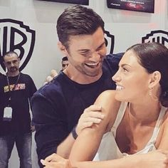 Daniel and Phoebe SDCC 7/21/2017