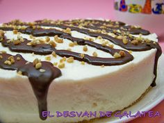 EL DESVAN DE GALATEA: TARTA DE CREMA DE ORUJO Chocolates, Chocolate Caliente, Tiramisu, Cheesecake, Pudding, Ethnic Recipes, Desserts, Html, Food